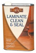 Laminate Clean and Seal - Non-aggressive cleaner for the regular maintenance of laminate flooring.