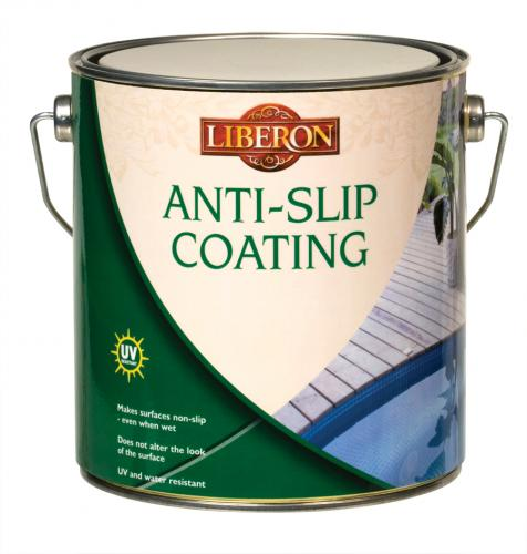 Anti-slip Coating - Makes surfaces non-slip - even when wet.
