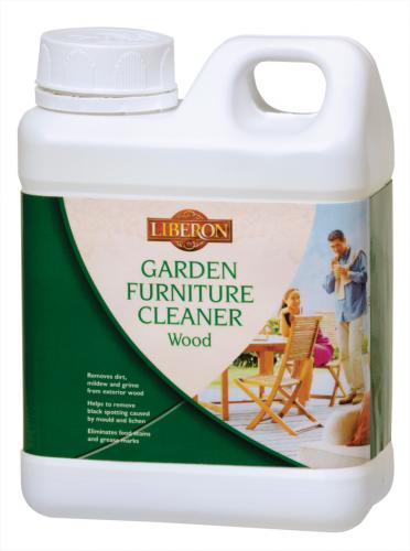 Garden Furniture Cleaner for Wood - Removes dirt, mildew and grime from dirty and greying exterior wood.