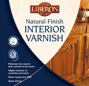 Natural Finish Interior Varnish - A water based varnish for protecting all interior woodwok that maintains the natural look and feel of the timber.